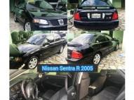 Nissan Sentra SE-R 2005 Negro Nunca Gas