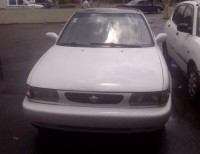Nissan sentra 2002 blanco