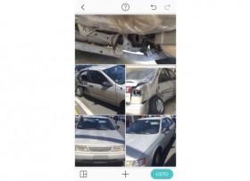 Nissan Sentra 1997 chocado