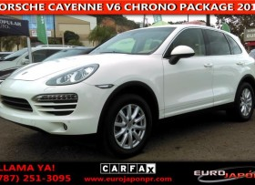 PORSCHE CAYENNE V6 CHRONO PACKAGE 2012
