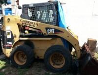 Pala mecánica Caterpillar modelo 246B año 2002