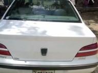 Peugeot 406 2002 blanco excelente condiciones