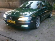 Peugeot 406 del 98 verde excelente condiciones