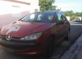 Peugeot 2006 2004 rojo motor toyota starlet
