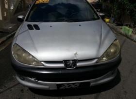 Peugeot 206 1999 gris