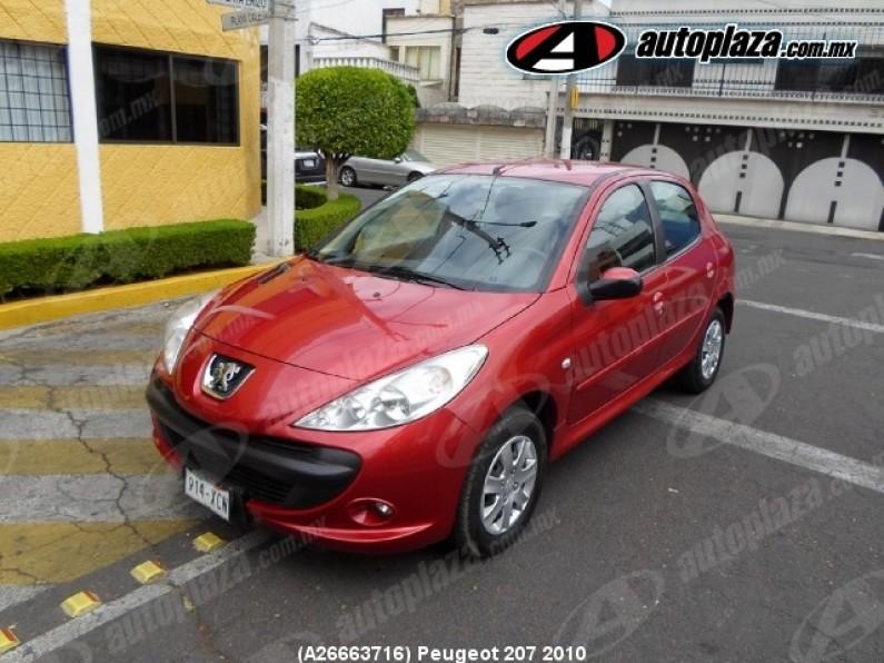 Peugeot 207 2010 5p Compact 14l 5vel