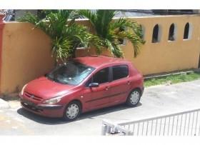 Peugeot 307 2004 rojo