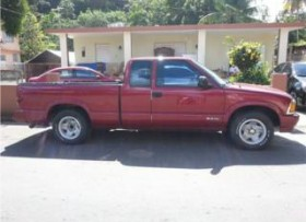 Pickup Chevrolet S10 74 mil millas