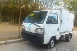 Platanera Honda Acty 1998 Gas Con Furgon Rd105 Autmatica
