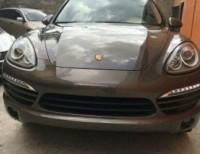 Porsche cayenne 2014 dorado techo panoramico