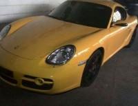 Porsche cayman 2007 amarillo mecanico
