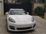Porsche panamera 2012 turbo unico duenio