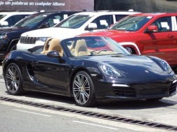 Porsche Boxster 2014 Negro Impecable Aros Turbo