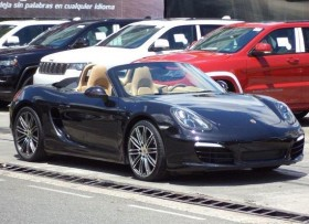 Porsche Boxster 2014 Negro Impecable Aros Turbo