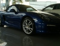 Porshe Boxster 2013 impecable