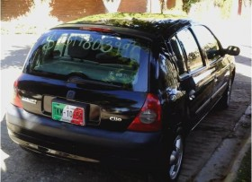 Renault Clio 2004 5p Expresion 5vel aa ee CD ABS