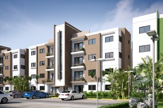 Residencial Lp-9  Apartamentos Con Bono Fideicomiso Alameda