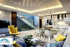 Residencial de Casa en Gazcue Con terminacion de Primera
