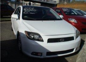 SCION TC 2008 AUT AC FULL LABEL