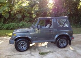 SE vende o ck Suzuki Samurai 4x4