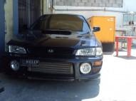 Subaru wrx 2000 turbo azul