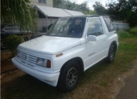 Suzuki Side Kick 4x4 Convertible 1995""