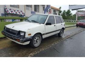 Suzuki forsa 1986 4 puertas 1800 omo