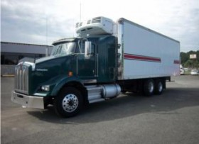 T800 Series Refrigerated Kenworth withSleeper
