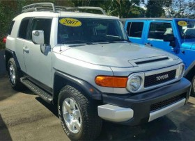 TOYOTA FJ CRUISER 2007 ESTRIBOD RACK 4X4