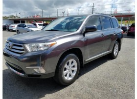 TOYOTA HIGHLANDER 2012 LE PLUS