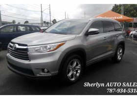 TOYOTA HIGHLANDER 2016 LIMITED