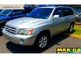 TOYOTA HIGHLANDER V6 2002 NUEVA FULL LABEL