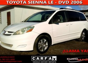 TOYOTA SIENNA LE -DVD 2006