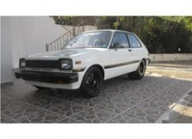 TOYOTA STARLET 1981 TURBO 12A ALCHOOL