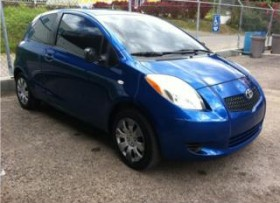 TOYOTA YARIS 2008- AZUL STD HATCHBACK- LOOK