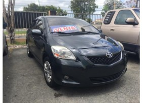 TOYOTA YARIS 2012 SEDAN 54K MILLAS