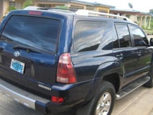 Toyota 4Runner, 2005 azul,