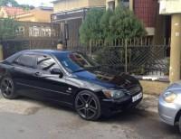Toyota Altezza 2002 -NEGRO
