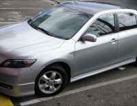 Toyota Camry 2007 V6 Gris Como