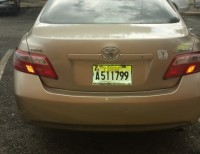 Toyota Camry 2008 en leather