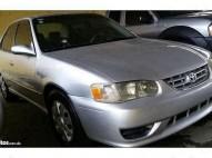 Toyota Corolla 2001 americano por la mazeta