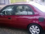 Toyota Corolla 2002 LE Rojo