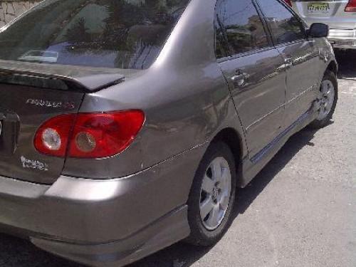 Toyota corolla 2003 super carro tipo s neg santo domingo for Santo domingo motors vehiculos usados