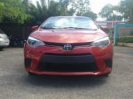 Toyota Corolla 2014 placa y marbete al día