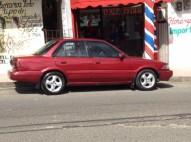 Toyota Corolla Rojo del 92 Con Motor de Corolla del 97