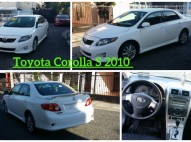 Toyota Corolla S 2010 Blanco