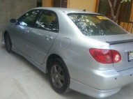 Toyota Corolla gris 2005 tipo s