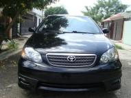Toyota Corolla tipo S 2008 negro