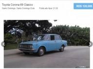 Toyota Corona 1969 Clasico
