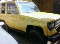 Toyota Land Cruiser 1986 Diesel en solo 120000
